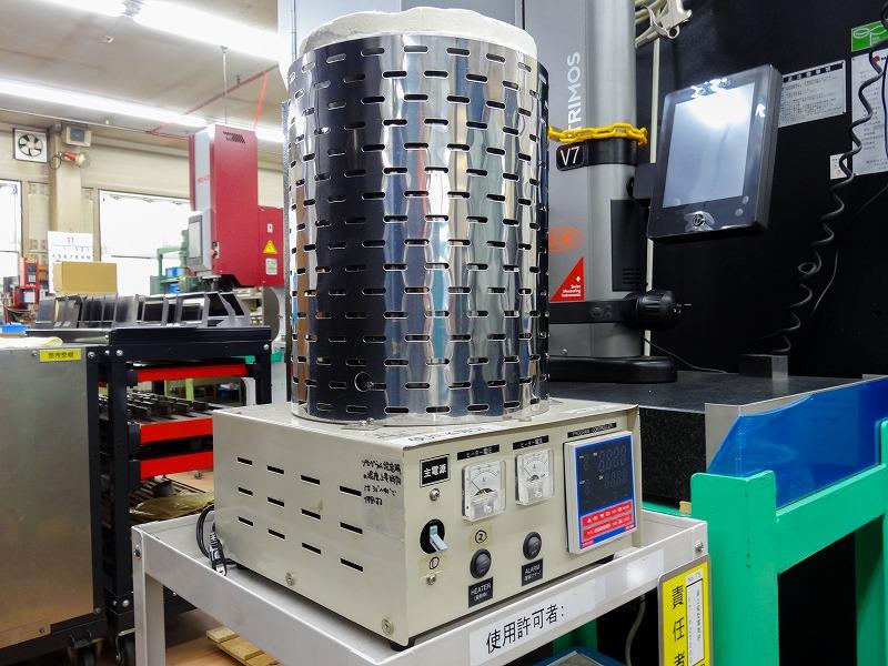高性能小型ポット電気炉
