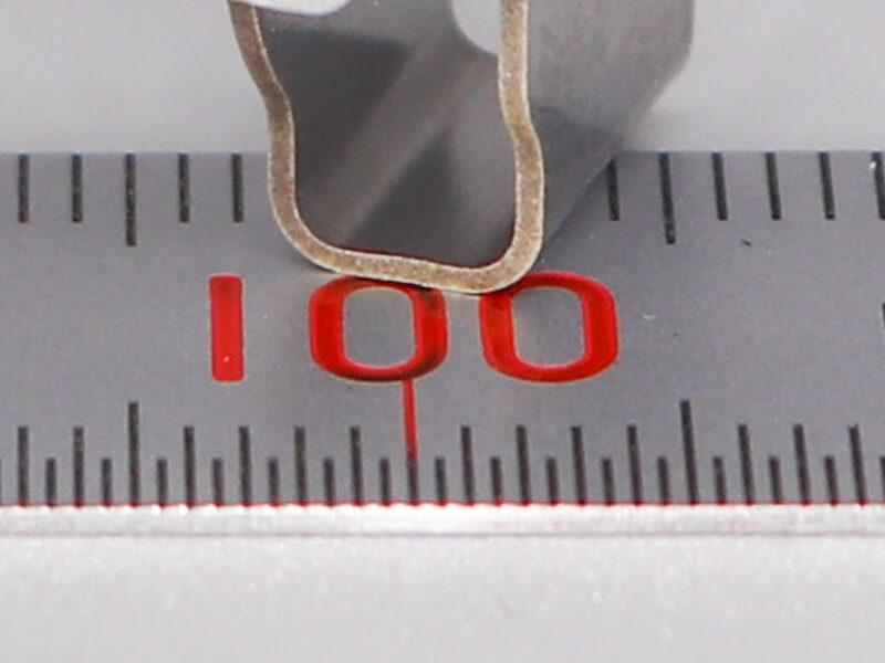 ワイヤー放電加工で熱影響をおさえた加工